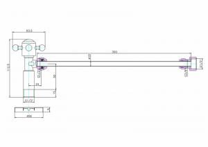 Вентиль Burlington W25 с подводом воды для унитаза схема