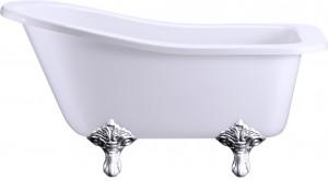 Набор ножек для ванны цвет хром Burlington E11 CHR