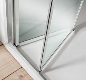 Дверь в нишу BIFOLD 900 мм