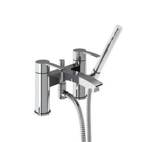 Смеситель для ванны с ручным душем набортный CTA16