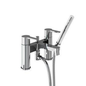 Смеситель для ванны с ручным душем набортный CTA7
