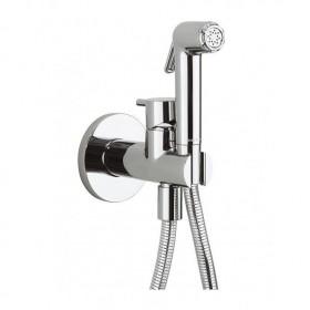Гигиенический душ Burlington Britton в комплекте со смесителем скрытого монтажа