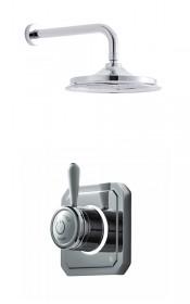 Душевая система Digital Classic [TK1M] на один выпуск с настенным держателем и круглой душевой насадкой 228 мм