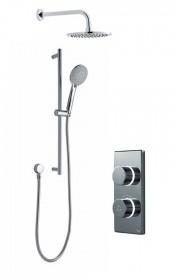 Душевая система Digital Contemporary на два выпуска [CK3] душ/душ