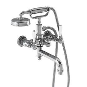 Настенный смеситель Arcade для ванны ARC2019 CHR+ARC65 CHR