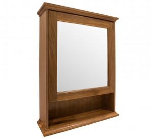 Зеркальный шкаф подвесной Burlington EU4D цвет орех