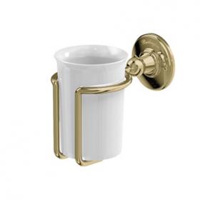 Керамический стаканчик Burlington A2 GOLD настенный