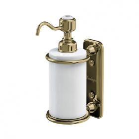 Керамический дозатор Burlington A19 GOLD для жидкого мыла