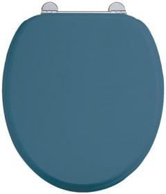 Сиденье с микролифтом для унитаза Burlington S56 BLUE синее матовое