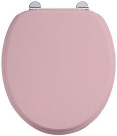 Сиденье с микролифтом для унитаза Burlington S54 PINK розовое матовое
