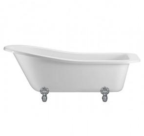 Ванна Burlington Buckingham slipper 150x75 E6 L1C