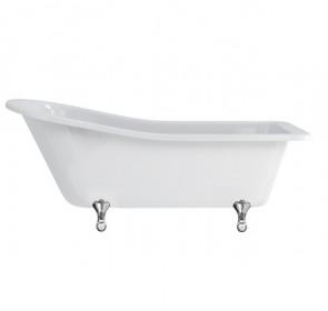 Ванна Burlington Harewood slipper 170x73 E1 E10 CHR